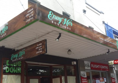 EnvyHer retail signs