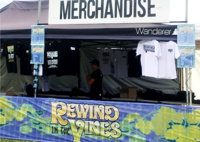 Rewind in the Vines 2017 - Merch