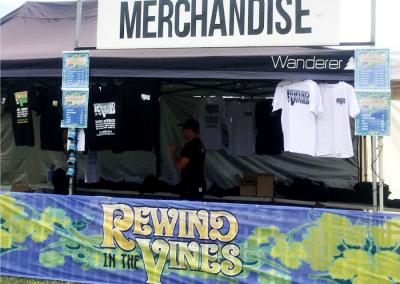Rewind in the Vines 2017 - Merch