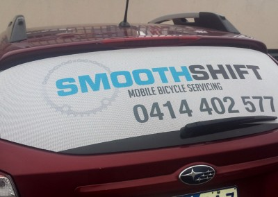 Smoothshift vehicle